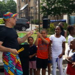 Zig Zag entertains kids in DC
