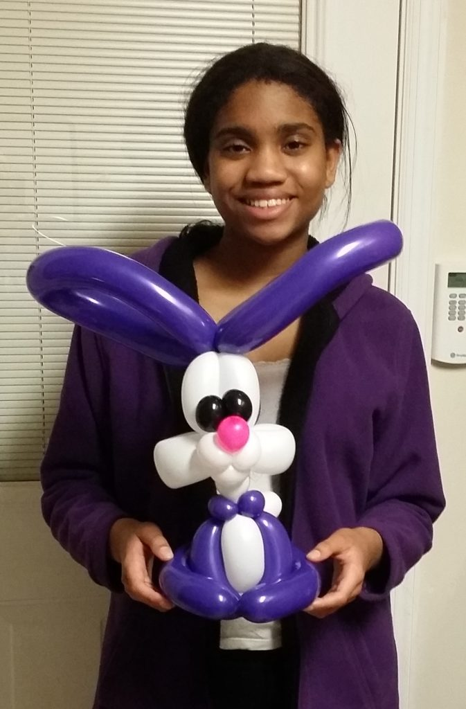 Balloon art is a great fundraiser for schools.