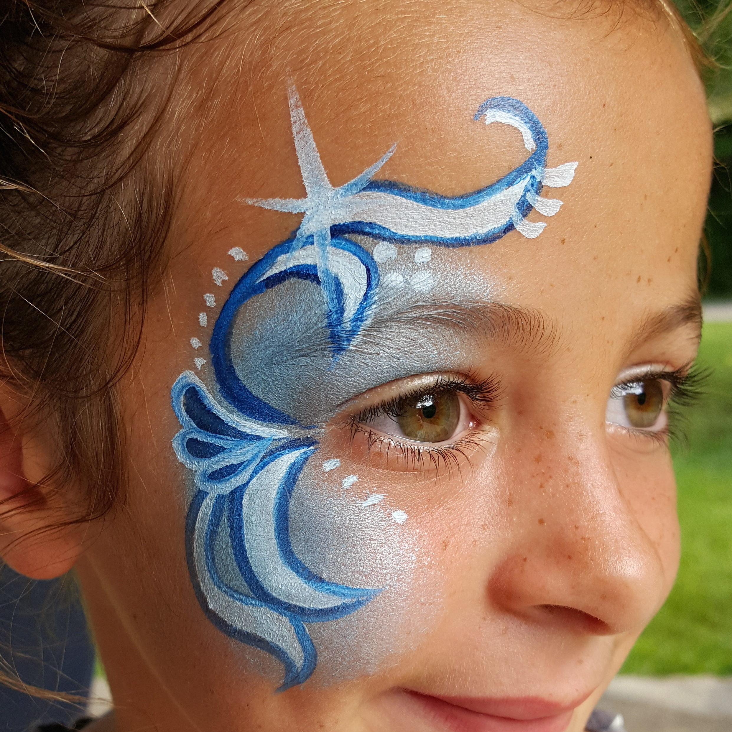 Girls party face painting